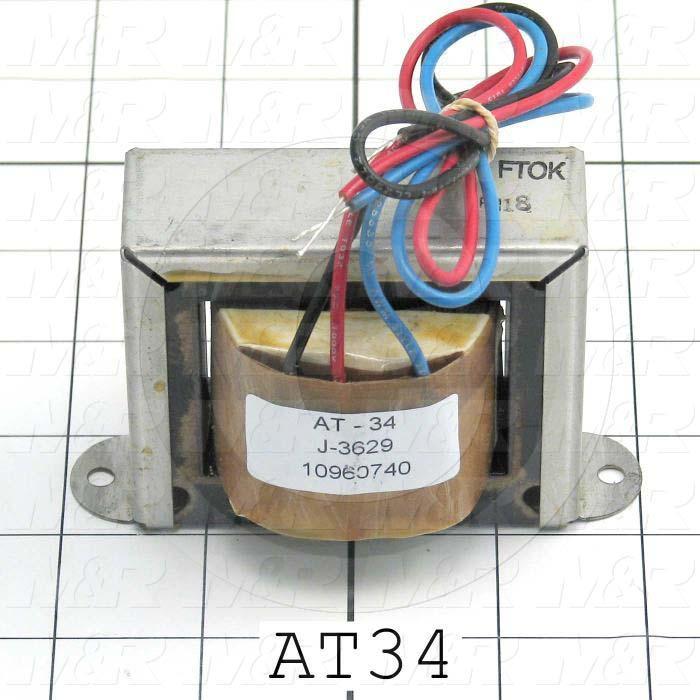 Autotransformer, 230/115V, 50/60Hz