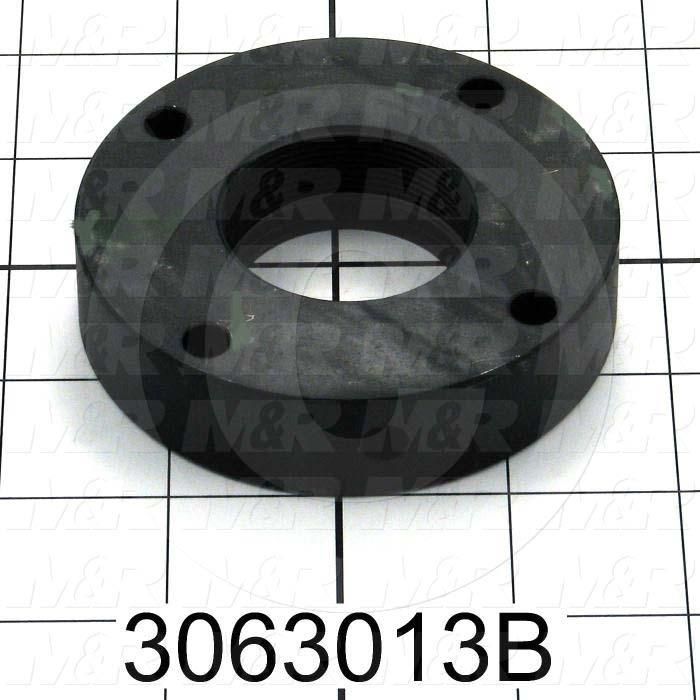 "Ball Screw, Type : Ball Screw Nut Flange, Flange Diameter 3.28"", Note : Use on Index  on Gauntlet II 16 X 18, with  Ball Screw Nut # 3063013A"