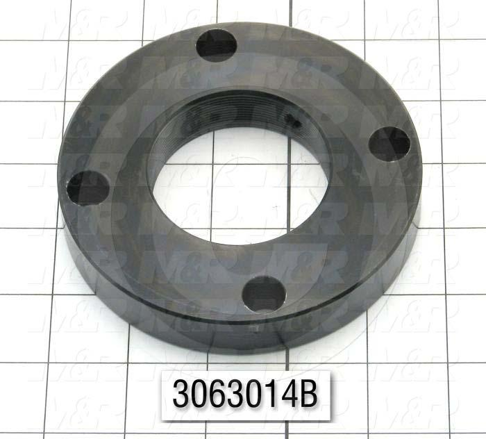 "Ball Screw, Type : Ball Screw Nut Flange, Flange Diameter 4.650"", Note : Use on Index  on Challenger II with Fanuc Servo Drive, with Ball Screw Nut # 3063014A"
