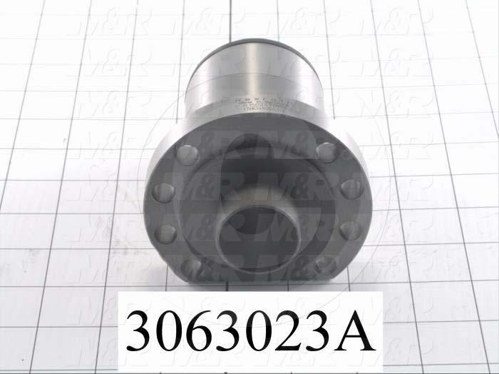 Ball Screw, Type : Ball Screw  Nut with  Flange, Flange Diameter 93 mm, Nut Diameter 63 mm, Nut Length 88 mm, Shaft Diameter 40 mm, Lead 20 mm, No of Circuits 3