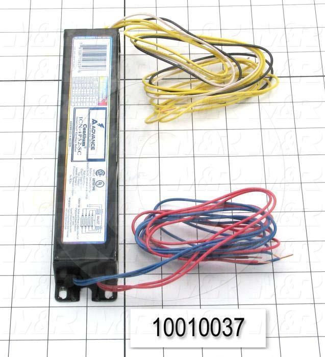 Ballast, Electronic Ballast, 4 Lamps, 120/277V