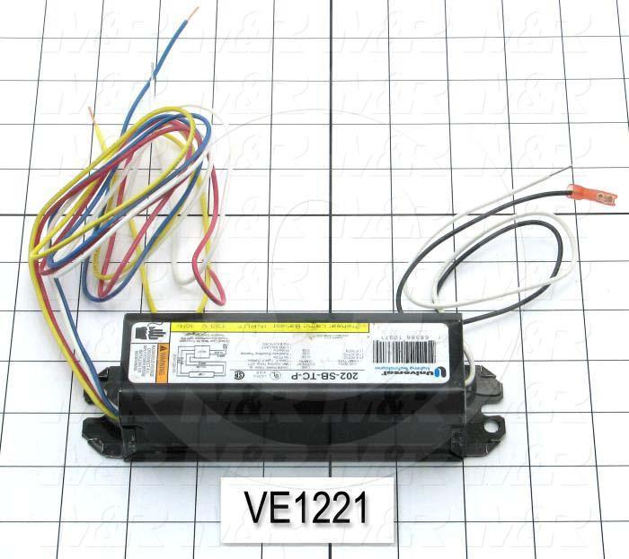 Ballast, Preheat Lamp Ballast, 30 Watts, 120V, 60Hz