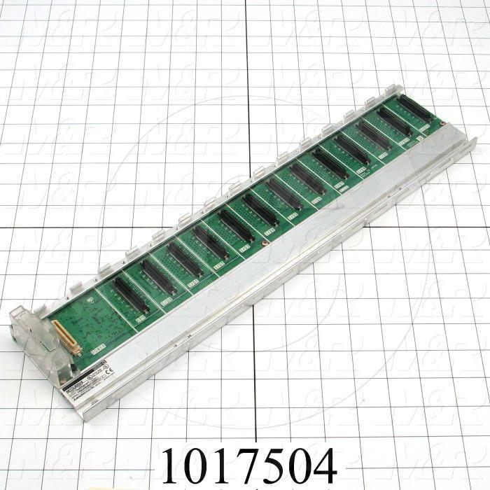 Base Unit, PLC Q Series, Power Supply, CPU, 12 I/O Slots
