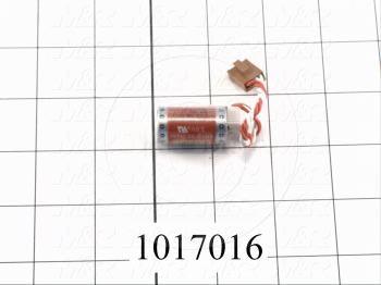 Battery, 3.6V, For PLC 3G2A9,C500,C200H