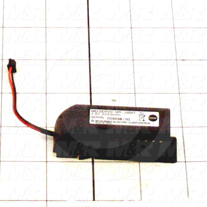 Battery, 3.6V, For Remove Servo MR-J3
