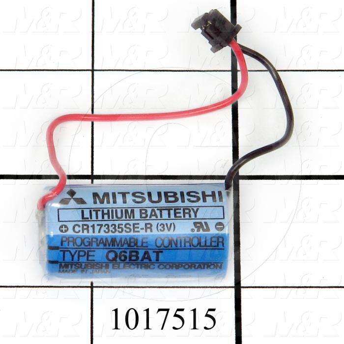 Battery, 3V, For PLC Q Series