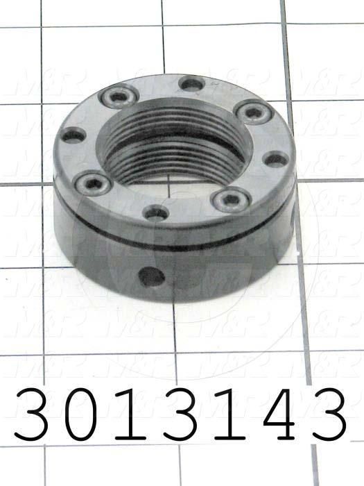 Bearing Locknuts, Type Clasp Locking, Thread Size M30 X 1.5, Outside Diameter 48 mm, Thickness 20mm