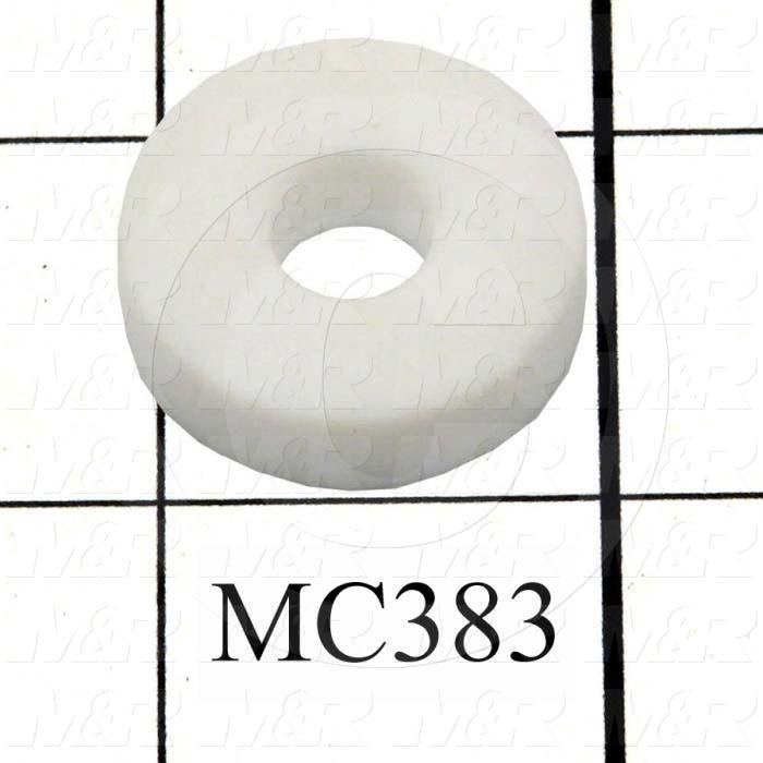 "Bearings, 0.352"" Inside Diameter, 1.024"" Outside Diameter, 0.281"" Width, Used on MC182 & MC211 Assembly, Virgin Teflon Material"