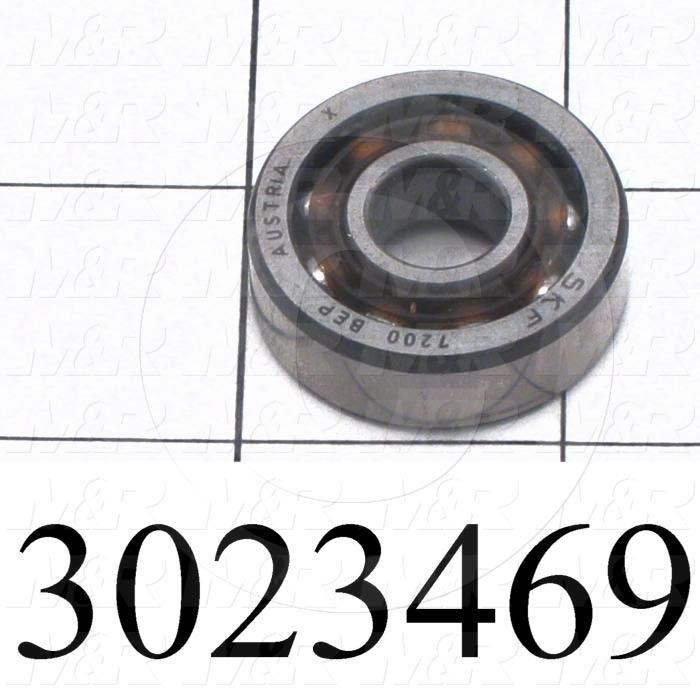 Bearings, Angular Contact, 10 mm Inside Diameter, 30 mm Outside Diameter, 9 mm Width