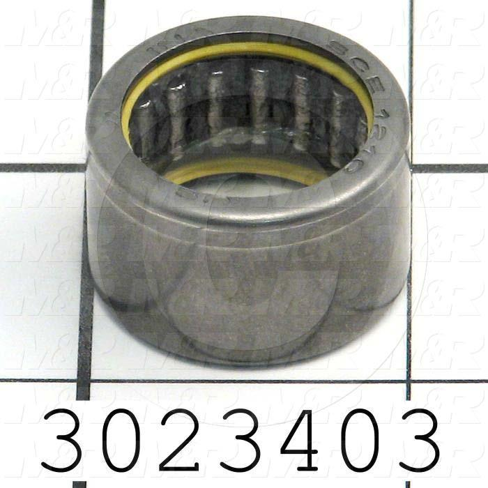 "Bearings, Needle Roller, 0.75 in. Inside Diameter, 1.00"" Outside Diameter, 0.63"" Width, Steel Material"