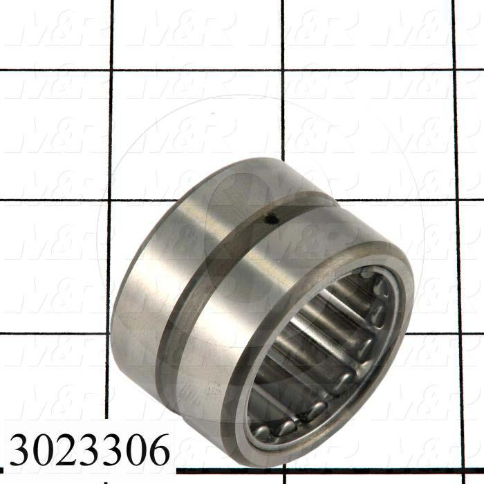 "Bearings, Needle Roller, 1.00"" Inside Diameter, 1.50 in. Outside Diameter, 1.00 in. Width, Open, Outer Ring and Rollers Assembly, Works with  Inner Ring # 3023307, Steel Material"