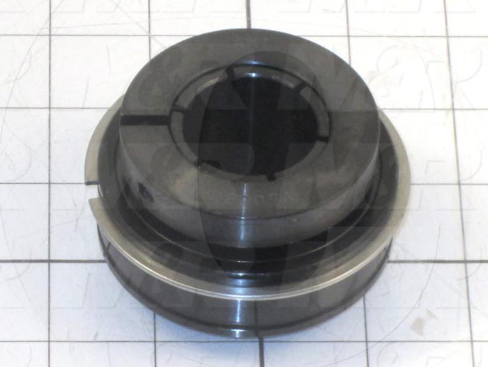 Bearings, Radial Ball with Snap Ring, 1.25 in. Inside Diameter, 72 mm Outside Diameter, 1.75 in. Width, Steel Material