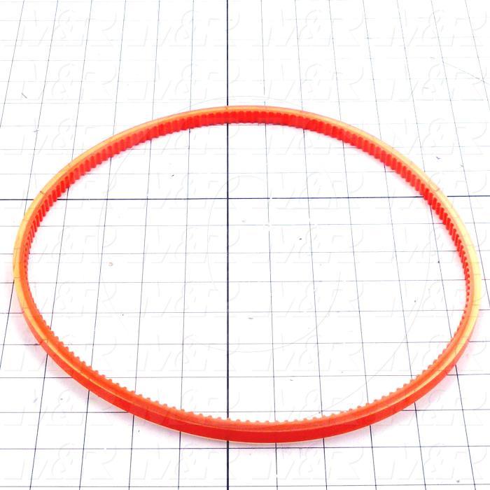 Belts, Round Type, Orange Belt For Squeegee Sharpener