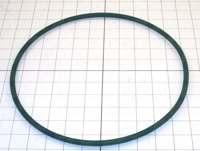 "Belts, Round Type, Urethane Material 1, 8mm Size, 33.75"" Belt Length"