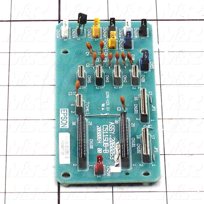 Board Assembly, CHIP BOARD SLOTS 5-8 FOR EPSON PRINTER 4880, Use For Printer 4880