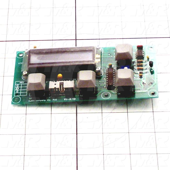 Board Assembly, Display Board, Use For Msp 2125, It Comes With Key-tops