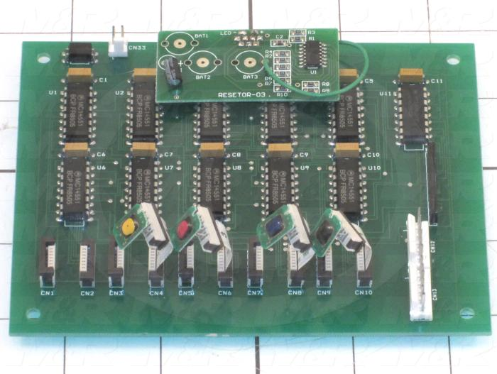 Board Assembly, Reset, Use For Printer 4880 Left