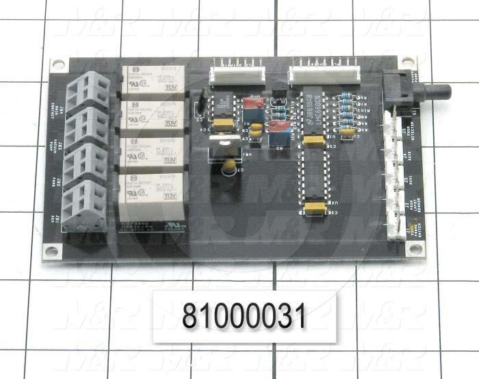 Board Assembly, Sensor Input Output Board, Use For All Tri-lights And Msp 3140