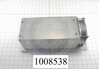 Brake Resistor, 8 Ohm, 800W, With Fan