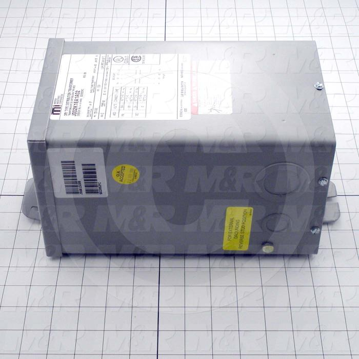 Buck-Boost Transformer, 2KVA, 120/240V Primary Voltage, 12/24V Secondary Voltage