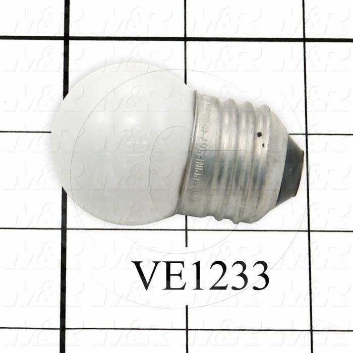 Bulb, White, 130V, 7.5W