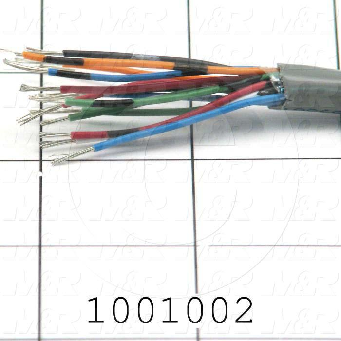 Bulk Cable, 15 Conductors, 22AWG, PVC