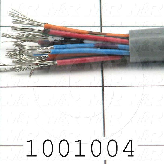 Bulk Cable, 20 Conductors, 22AWG, PVC