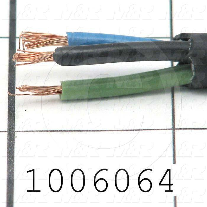 Bulk Cable, 3 Conductors, 16AWG, PVC