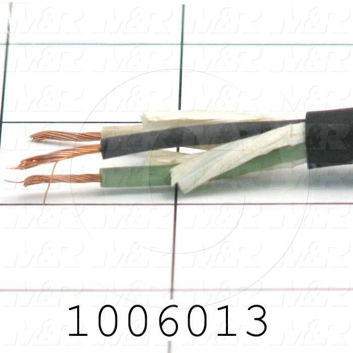 Bulk Cable, 3 Conductors, 18AWG