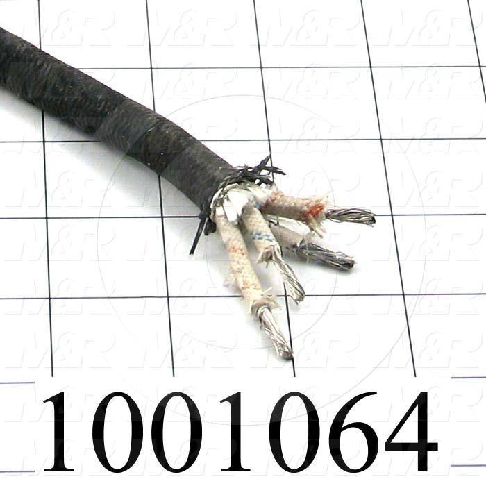 Bulk Cable, 4 Conductors, 12AWG, 105ºC