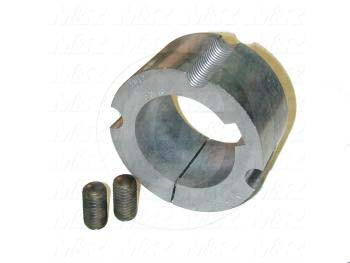 "Bushings, 2517 Type, 2.19"" Bore Size, 1/2 in. X 1/4 in. Keyseat, Steel Material"