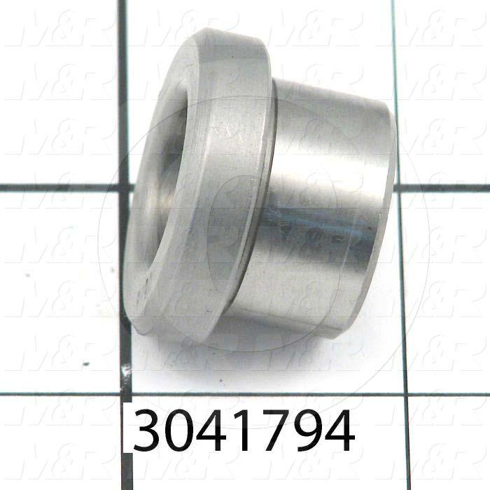 "Bushings, Drill Type, 0.63 in. Bore Size, 0.880"" Outside Diameter, 0.50 in. Height, Steel Material"