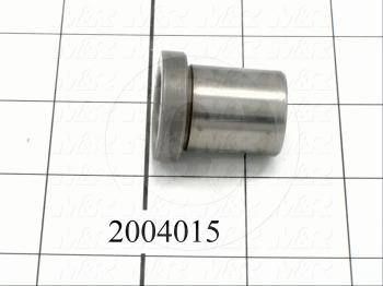"Bushings, Drill Type, 0.66"" Bore Size, 0.880"" Outside Diameter, 1 in. Height, Steel Material"