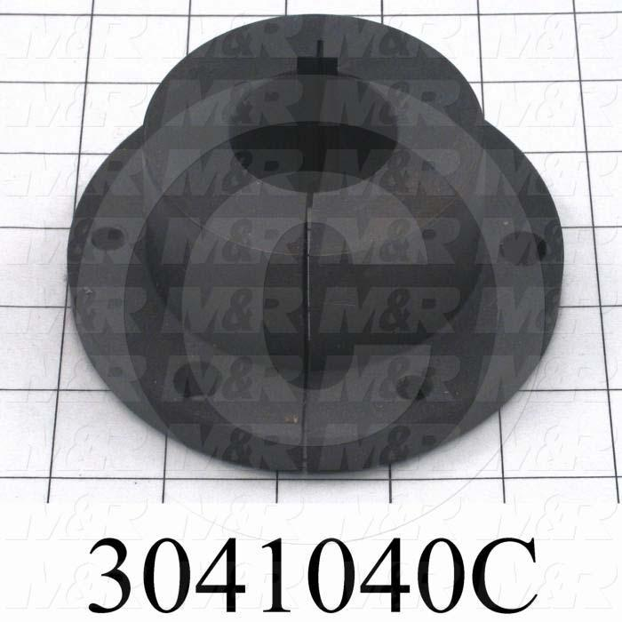 "Bushings, Q-D SF Type, 1.50"" Bore Size, 0.38"" X 0.19"" Keyseat, 4.630"" Outside Diameter, 2.00 in. Height, Steel Material"