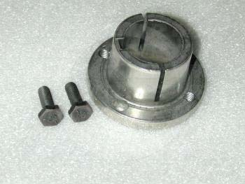 "Bushings, Split Taper H Type, 1.13"" Bore Size, 1/4"" X 1/8"" Keyseat, 2.50 in. Outside Diameter, 1.25"" Height, Steel Material"