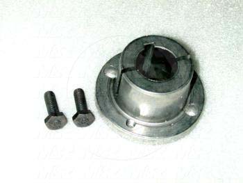 Bushings, Split Taper H Type, 7/8 in. Bore Size, 3/16x3/32 Keyseat, 2.50 Outside Diameter, 1.25 Height, Steel Material - Details
