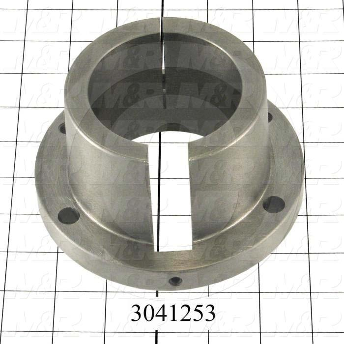 "Bushings, Split Taper R-1 Type, 2.94"" Bore Size, 3/4"" X 3/8"" Keyseat, 5.380"" Outside Diameter, 2.88"" Height, Steel Material"