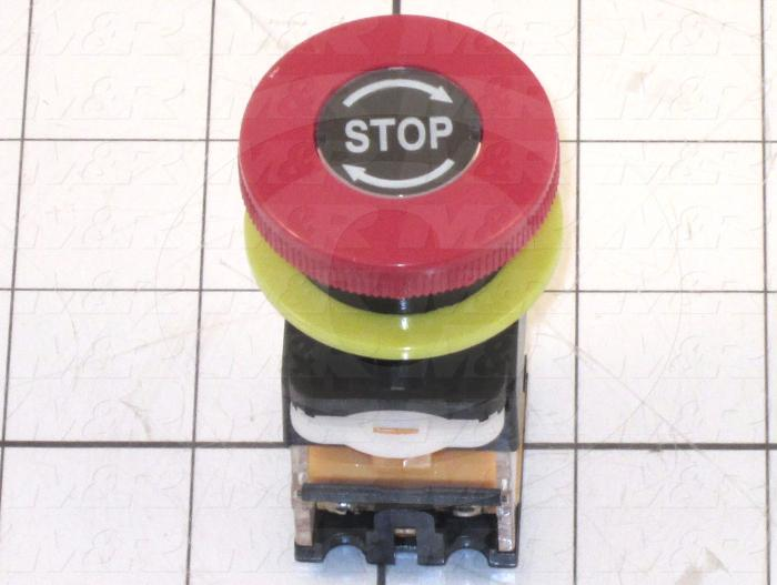 Button, Red, Use For E-Stop