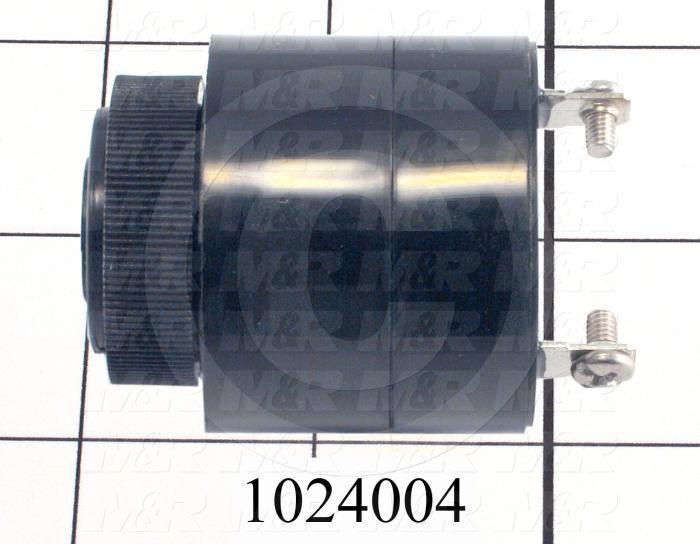 Buzzers, 110VAC, 10mA, 80 (dBA/30cm), Pulse Tone