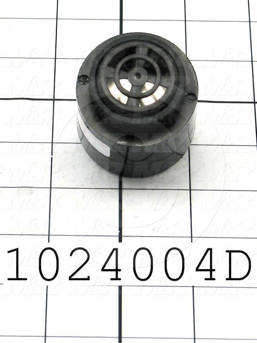 Buzzers, 240VAC, 20mA, 90 (dBA/30cm), Single Tone