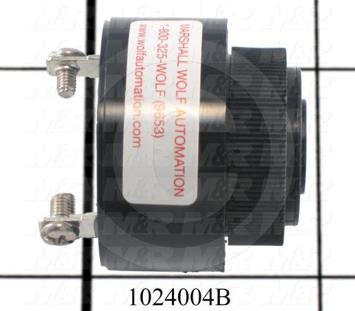 Buzzers, 24V AC/DC, 35/25mA, 90/85 (dBA/30cm)