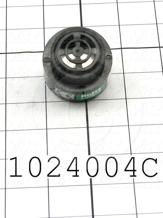 Buzzers, 24VDC, 20mA, 80 (dBA/30cm), Single/Pulse Tone, Hybrid