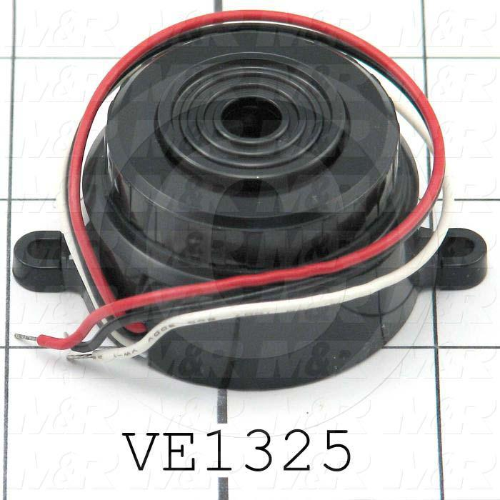 Buzzers, 3-28VDC, 20mA, 68 (dBA/2ft), Dual Tone