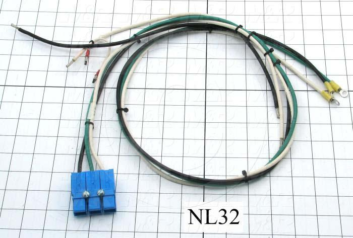 Cable Assembly, Harness, PWC, MAIN BOARD, NL Units