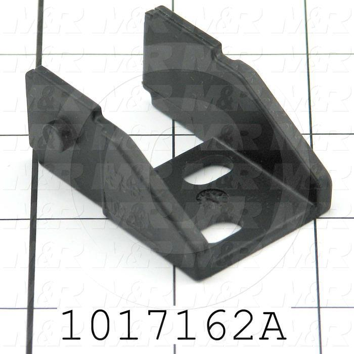 "Cable Carriers & Accessories, Bracket, 1.30"" Width, One Set-W/bore & W/Pin, Plastic Material"