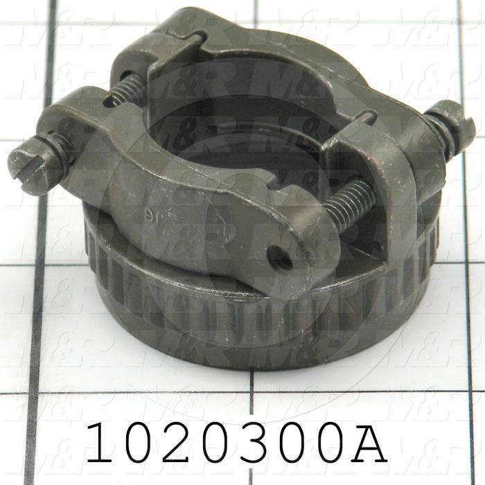 Cable Clamp, Shell Size 24, 28, Use For PULSE GENERATOR