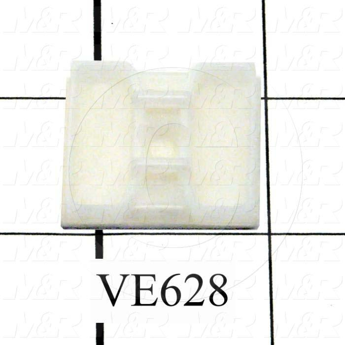Cable Tie Mount, 2-Way Mount