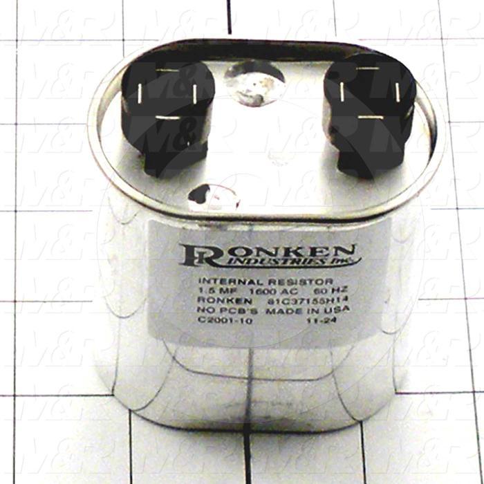 Capacitor, 1.5MFD, 1600VAC