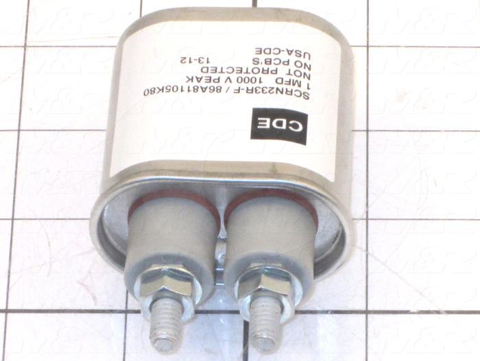 Capacitor, 1MFD, 2000VDC