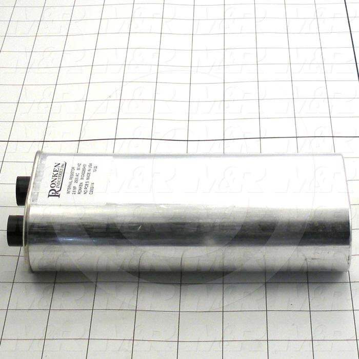 Capacitor, 2.8MFD, 2500VAC